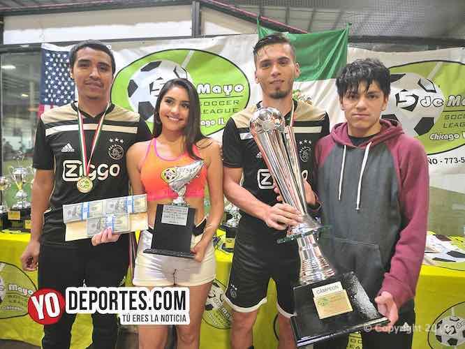 Real Juventud el campeón de la Liga 5 de Mayo Indoor 2019