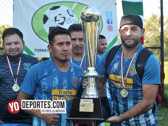 Artilleros Brasil campeones de la Tercera en la 5 de Mayo
