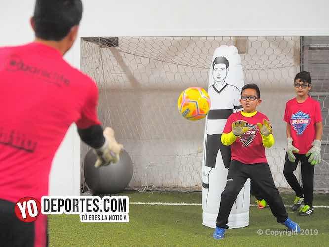 Escuela de porteros con Cesar Rios