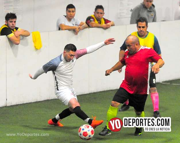 Fallan penal y Guerreros FC empata con Torinos en Chitown Wednesday Night League
