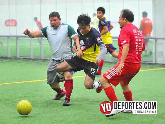 Morelos y Azteca se conforman con un gol en la Douglas de los Martes