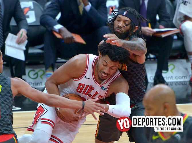 Cierran pretemporada los Bulls embistiendo a los Hawks de Atlanta