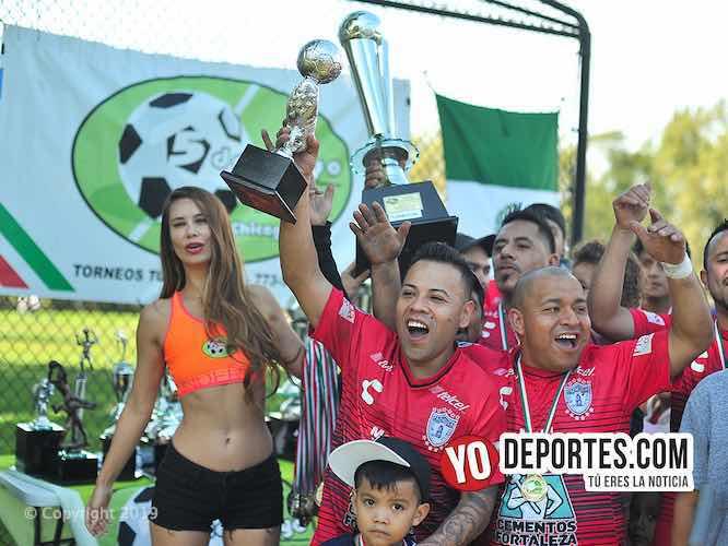 Pachuca sufre pero es el nuevo campeón de la Liga 5 de Mayo