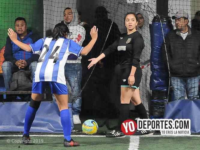 Las Panas asestan derrota al Real Puebla en la femenil de Chicago