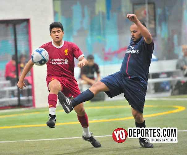 The Vill FC gana duelo de barrios al Deportivo Pilsen en Liga 5 de Mayo indoor futbol