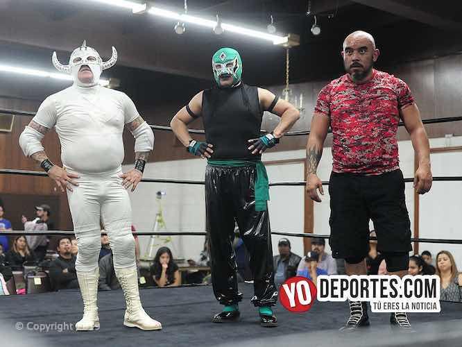 ¡Ganaron los rudos! Skayde, Super Comando y Yakuza en Lucha Libre Total