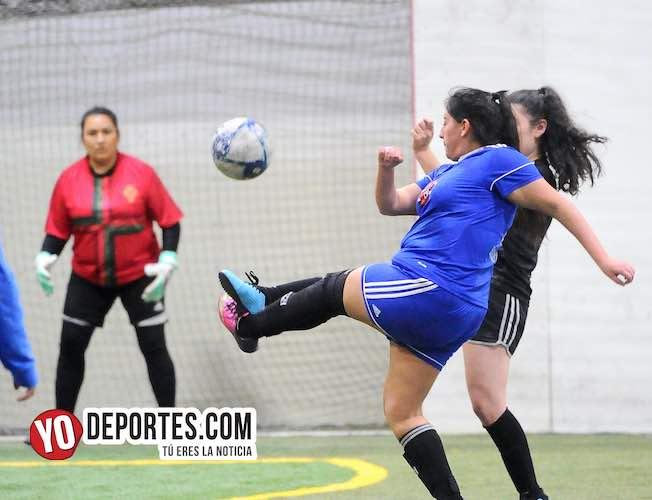 Frozen Blue congelan empate con FC Chicago en la 5 de Mayo Femenil