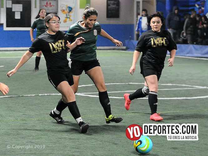 LAFC consigue ganarle al Pacífico en la femenil Interamericana