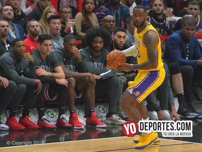 Les quedó grande LeBron James a los Bulls de Chicago