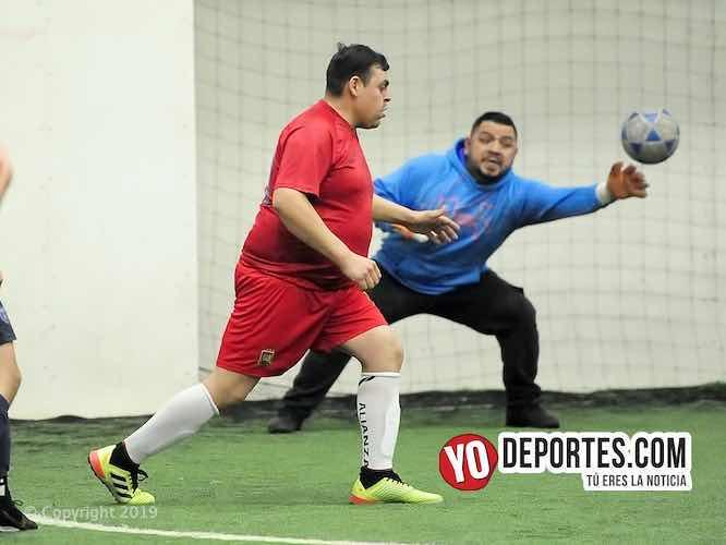 Rugen las Panteras pero pierden con el Atlético Morelos en la Liga Douglas