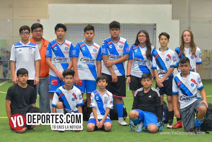 Puebla gana duelo juvenil al Atletic Magic en la Douglas