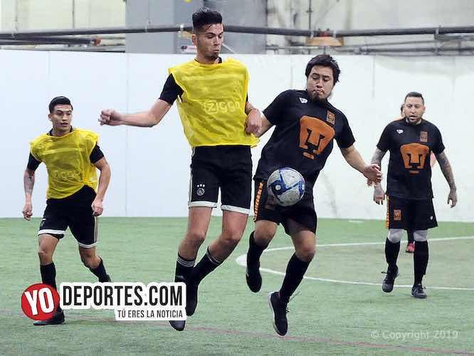 Con sabor a triunfo UNAM le empata al Real Juventud en la 5 de Mayo