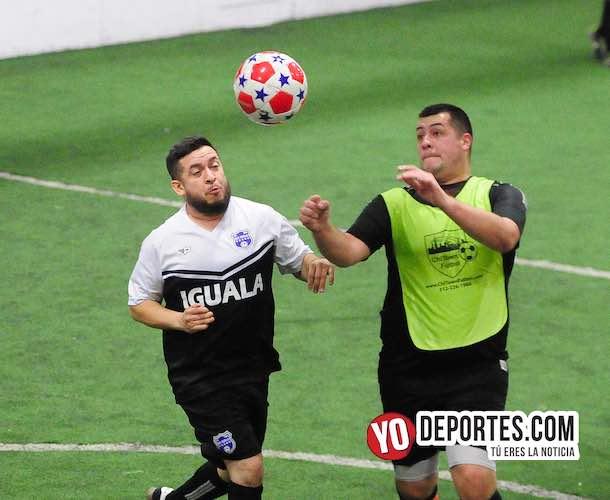 Iguala, el invicto invencible de Chitown Futbol Veteranos