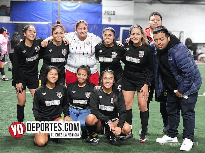 Nadie le gana a las Panas FC en la Interamericana Femenil Elite