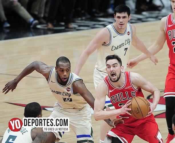 Los Bulls siguen sin poder ganarle a los Bucks de Milwaukee