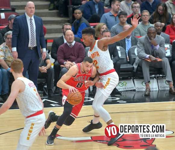 Zach LaVine carga con los Bulls y rompen cadena de derrotas