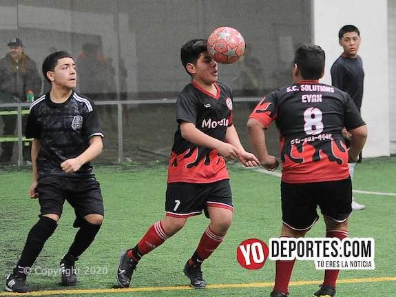 Club Morelos vuelve a ganar en el Torneo Relámpago de la Liga Douglas