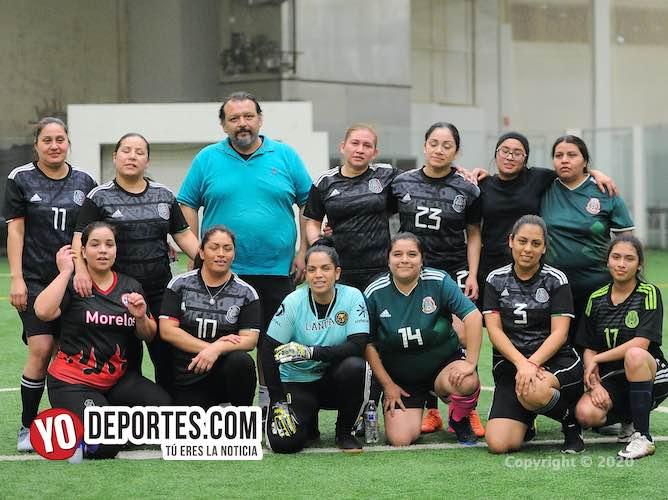 Puras madres arman el Morelos Femenil en la Supercopa de la Douglas