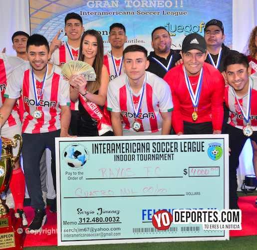 Rayos FC reparten 4 mil dólares y van por bicampeonato de la Liga Interamericana