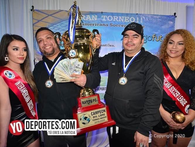 Sorpresa: Rayos FC se queda con los $4 mil dólares de la Liga Interamericana Futsal