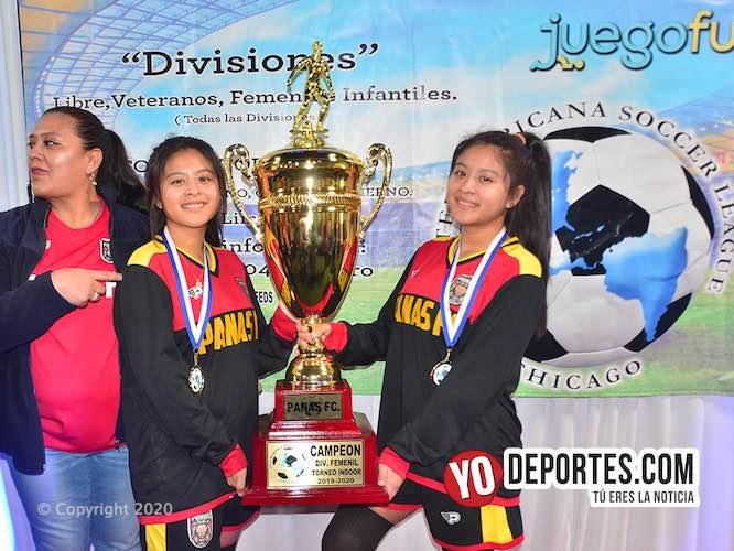 Campeonas Panas FC lideran invictas tabla de la Liga Interamericana Femenil Elite