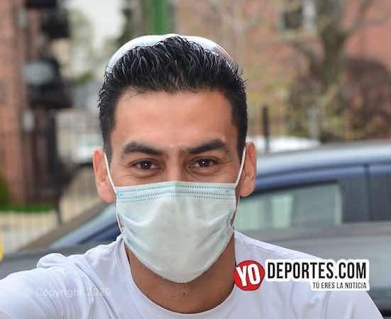 Árbitro Eswin Hernández sobrevive la cuarentena como mecánico en Chicago