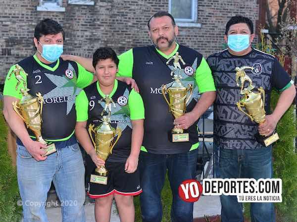 Club Morelos acepta padres madres e hijos para jugar en todas las divisiones de futbol