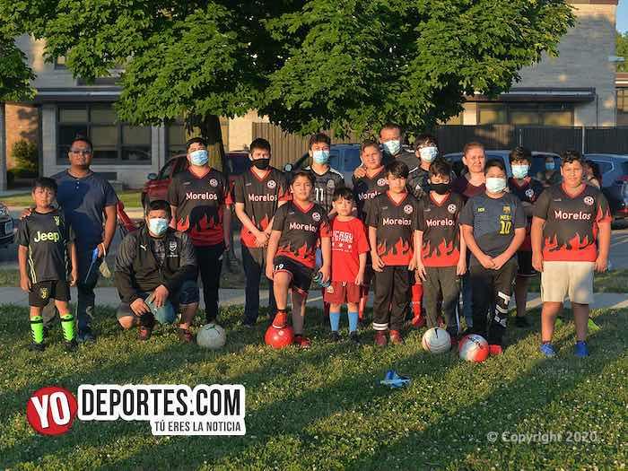 Club Morelos arranca pre temporada en el Drexel Park de Cicero