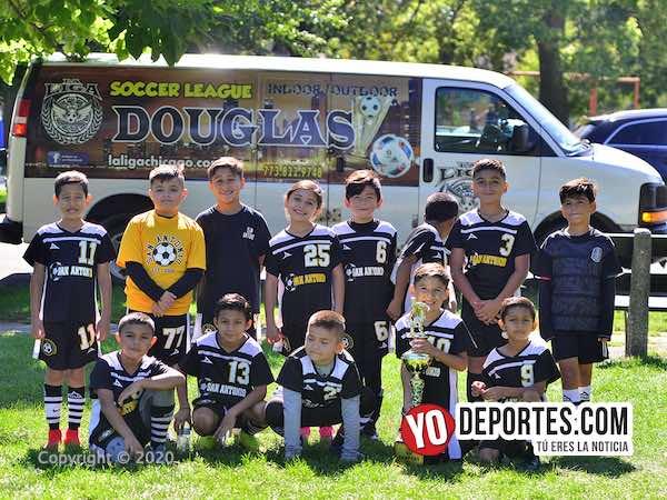 San Antonio campeón de Torneo Relámpago de la Liga Douglas