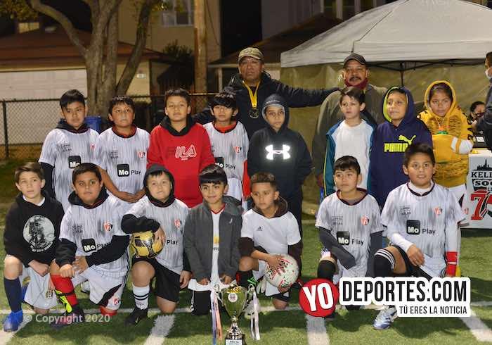 Atletico 11 los últimos campeones del verano en Kelly Soccer League