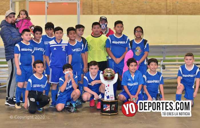 Zarpazo de Eagles Blue sobre Atlético Celaya FC en la Supercopa Infantil