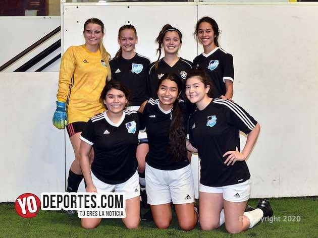 Gremio Black divide en doble jornada de la Kelly Soccer Femenil