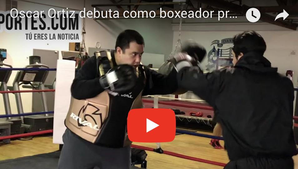 Oscar Ortiz debuta como boxeador profesional en Chicago